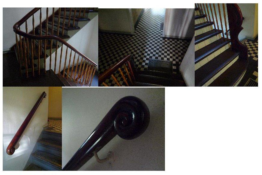 Fotokollage Treppenhaus kl